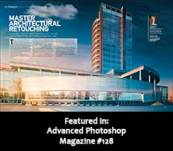 John Ross Featured in Advanced Photoshop Magazine Issue #128